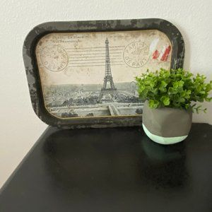 Paris Eiffel Tower Serving Tray
